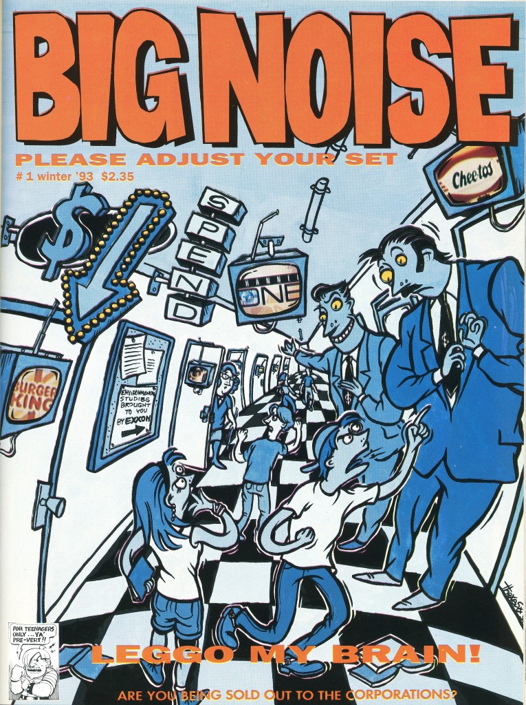 Big Noise magazine cover