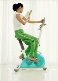 Reading and exercising