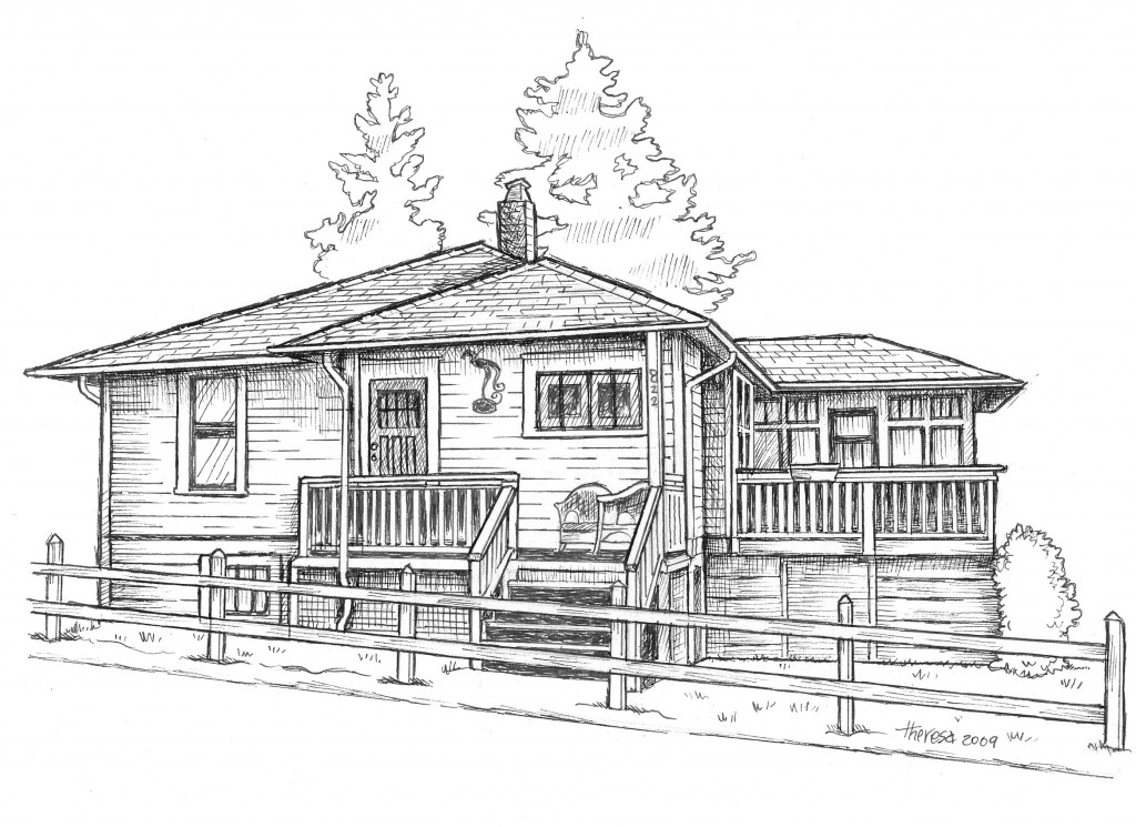 New Westminster Home Tour brochure illustration